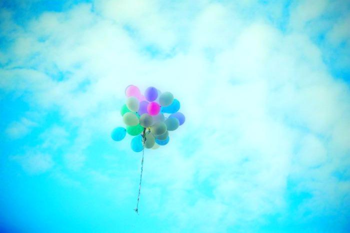 balloons in sky 3